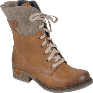 79604 24 TAN LACE UP BOOT
